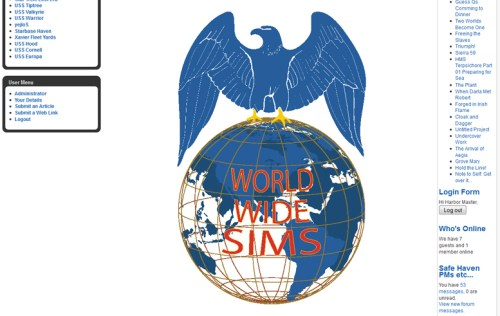 World Wide SIms logo