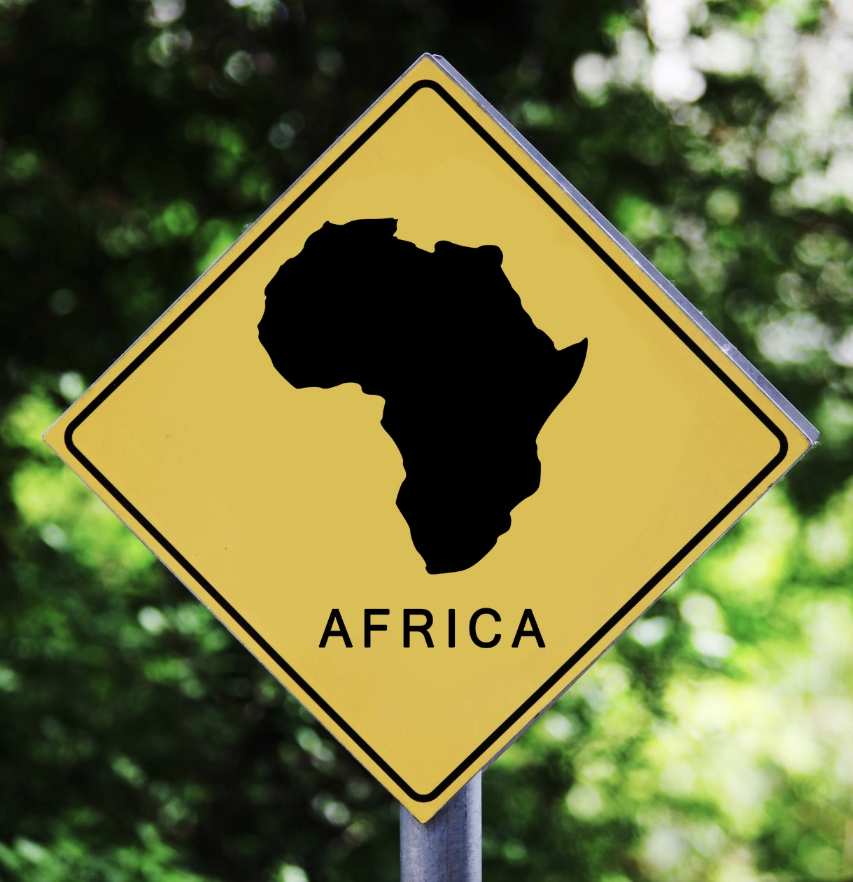 africa sign post