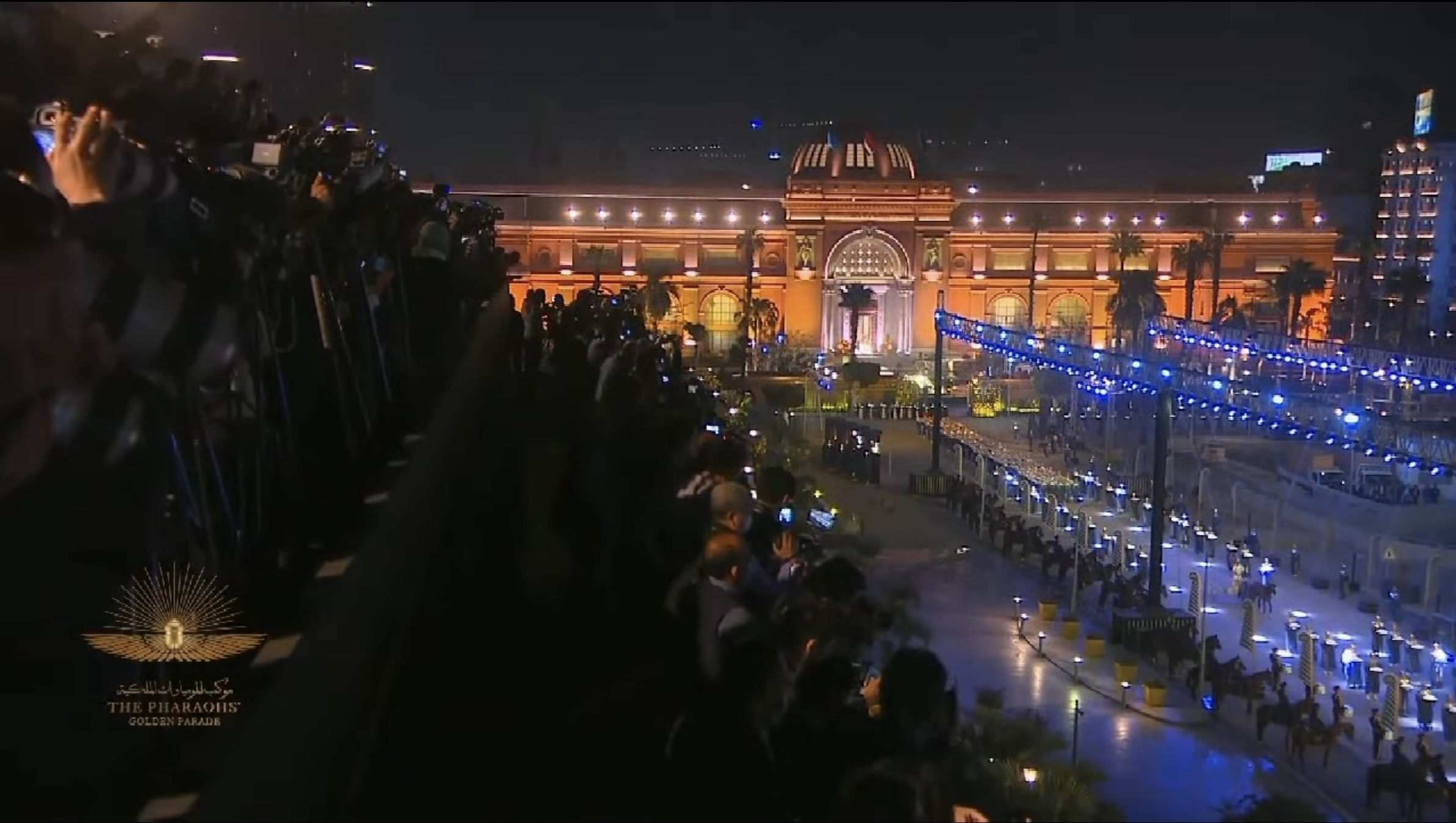 Experience Egypt's coverage of The Pharoah's Parade
