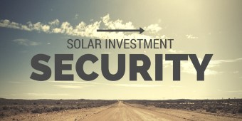 Solar Investment Security