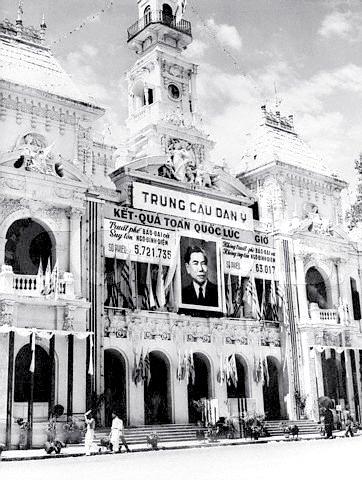 Tòa Đô chính Sài Gòn ngày 26/10/1955. Trưng cầu dân ý, Truất phế Bảo Đại và suy tôn Tổng Thống Ngô Đình Diệm
