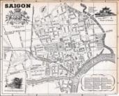 Bản đồ Đô Thành Saigon và phụ cận - trước 1975 và bây giờ (1/3)