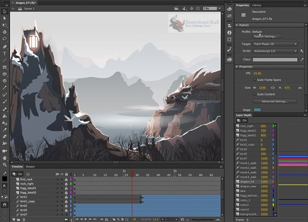 Adobe Animate CC 2019 License Key Crack Download