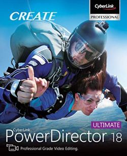 CyberLink PowerDirector Ultimate 18 Crack Activation Key Download