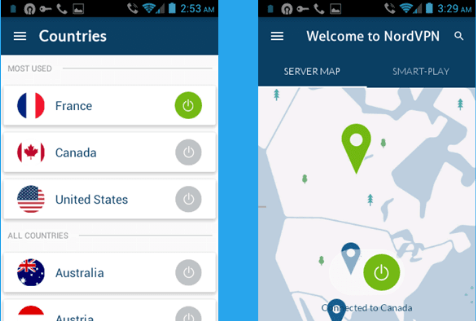 NordVPN Mod APK for Android
