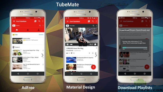 TubeMate YouTube Downloader Apk for android