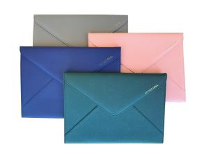 laptop case or document wallet in stylish colours