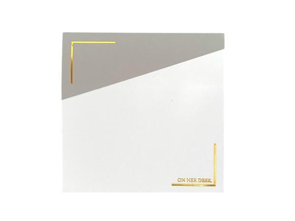 Sticky notes grey colour
