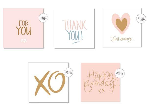 luxury greeting card options