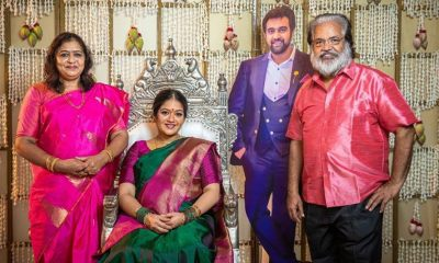 Chiranjeevi Sarja's Wife Meghana Raj Shares Pics From Her Baby Shower Ceremony And The Late Actor's Large Cut-Out Next To Her Is Unmissable