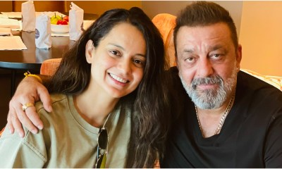 Kangana Ranaut Meets Sanjay Dutt in Hyderabad to Check on His Health, Is Pleasantly Surprised to See Him 'Handsome and Healthy' (View Tweet)