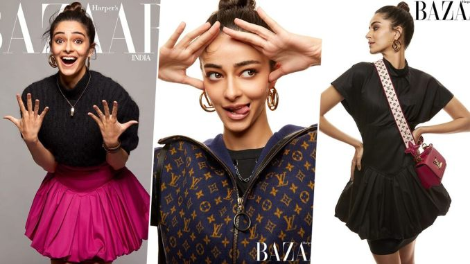 Ananya Panday Exuding 'Why Should Boys Have All the Fun' Vibes on the Cover of Harper's Bazaar Magazine