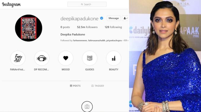 Deepika Padukone's Instagram Posts Goes Missing and We Are Confused if It's Publicity Stunt or a Cyber Crime Attack