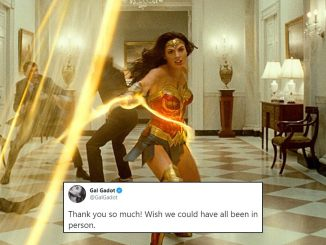 Gal Gadot Reacts to Wonder Woman 1984's Early Reviews on Twitter
