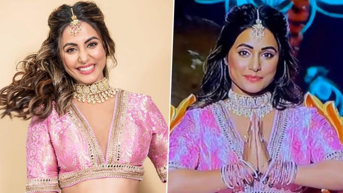 Hina Khan Revisits Her Akshara Days, Shares a Glimpse of Her Breathtaking Performance from Star Parivaar's Show (Watch Video)