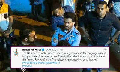Indian Air Force Demands Withdrawl of Anil Kapoor's AK vs AK Trailer Stating It Shows the Defence Forces in Bad Light (View Tweet)