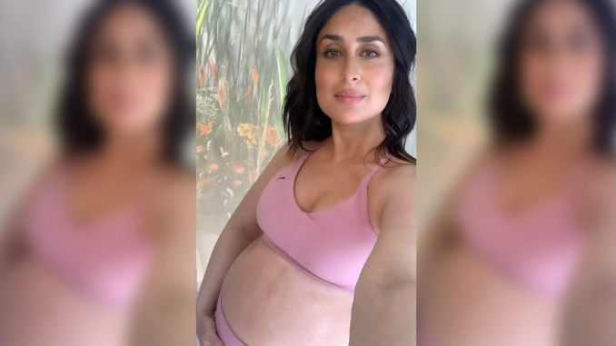 Kareena Kapoor's Pregnancy Glow Cannot Be Missed As She Flaunts Her Baby Bump While on the Sets