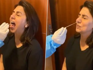 Neetu Kapoor's Video of Her Taking 'Fab' Swab Test Goes Viral After Doctor Calls Out on Twitter How Her COVID-19 Detection Test Is Handled