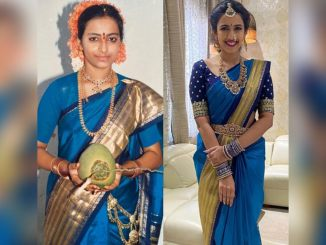 Niharika Konidela Wears Her Mother's 32-Year-Old Engagement Saree For Her Pellikuthuru Function! View Pics From The Pre-Wedding Festivity