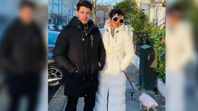Priyanka Chopra Rings In Christmas With Nick Jonas Amidst Reports of Being Stranded In the UK Due To COVID-19 Lockdown (View Post)