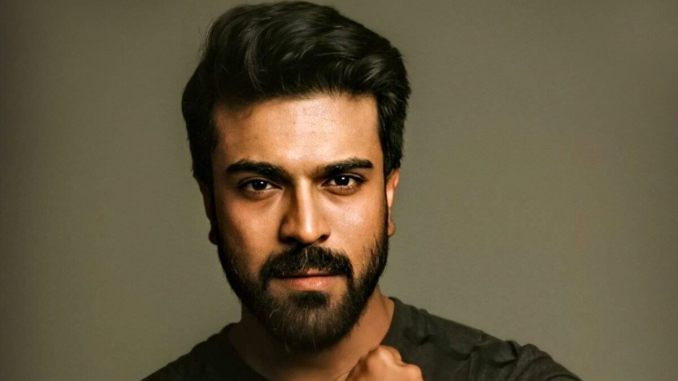 Ram Charan Spotted On The Sets Of Chiranjeevi's Acharya! (View Pics)