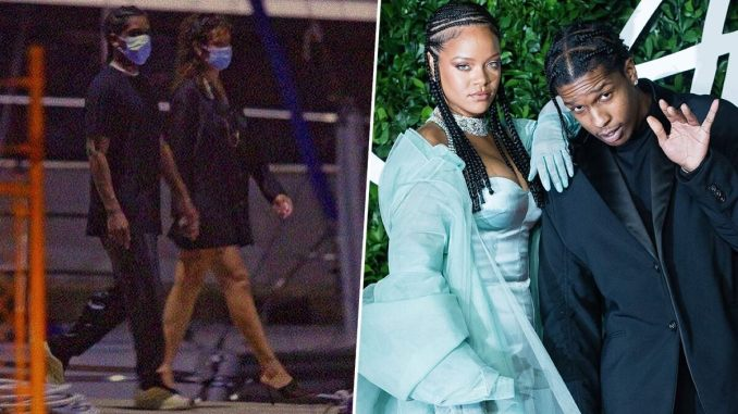 Rihanna Spotted Holding Hands with A$AP Rocky in Barbados On Christmas Eve (View Pic)