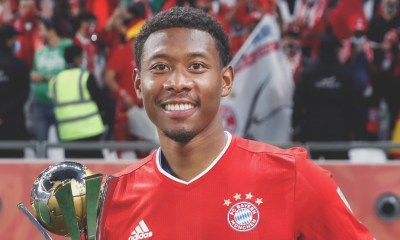 David Alaba Joins Real Madrid on a Free Transfer from Bayern Munich