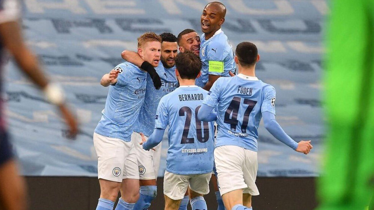 Manchester City 2-0 PSG, UCL 2020-21: Riyad Mahrez's Brace Guides Pep Guardiola's Team To First-Ever Champions League Final (Watch Goal Highlights)