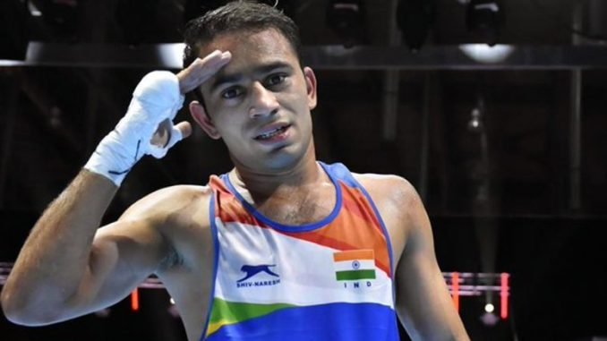 Amit Panghal at Tokyo Olympics 2020, Boxing Live Streaming Online: Know TV Channel & Telecast Details for Men's Flyweight Coverage