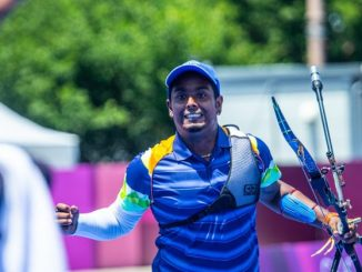 Atanu Das Reacts After Winning in Shoot-Off Against Oh Jin Hyek At Tokyo Olympics 2020