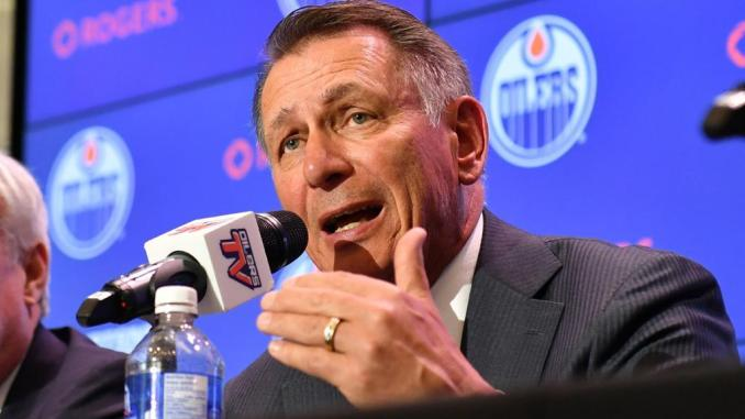 """Oilers Will """"Do The Best They Can"""" To Add Third-Line Center"""