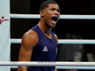 Hebert Conceicao becomes fifth middleweight boxer to win Olympic gold via a knockout