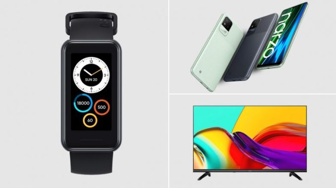 Realme Launches Narzo 50 Series, Realme Band 2 & Smart TV Neo 32-Inch in India; Check Prices & Other Details Here