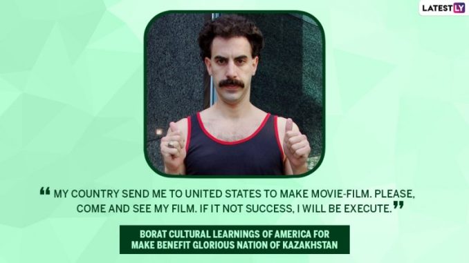 Sacha Baron Cohen Birthday Special: 10 Wacky and Occasionally NSFW Quotes of the Borat Actor You Should Check Out From His Movies!