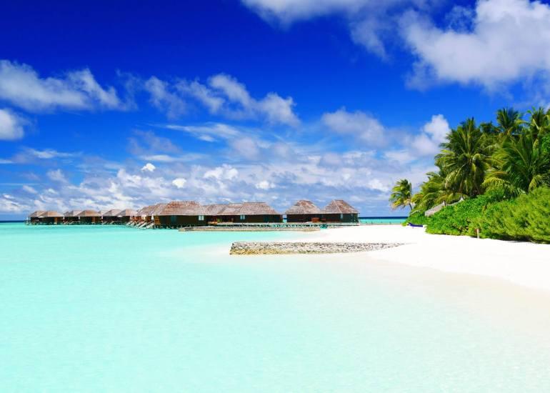 Bungalow sur pilotis voyage Maldives