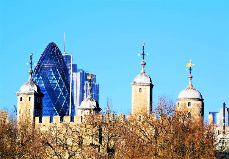 Le Cornichon et la Tour de Londres