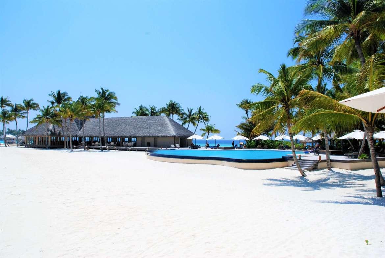 Voyage aux Maldives sur le resort de Veligandu