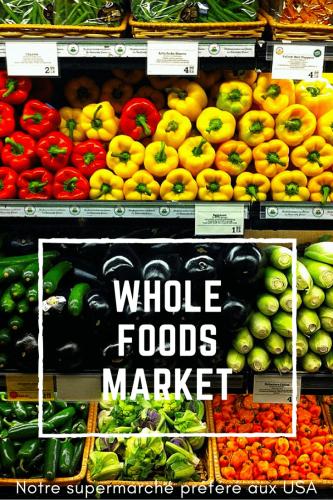 Supermarché américain Pinterest
