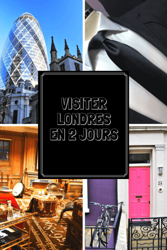 Visiter Londres en 2 jours Pinterest