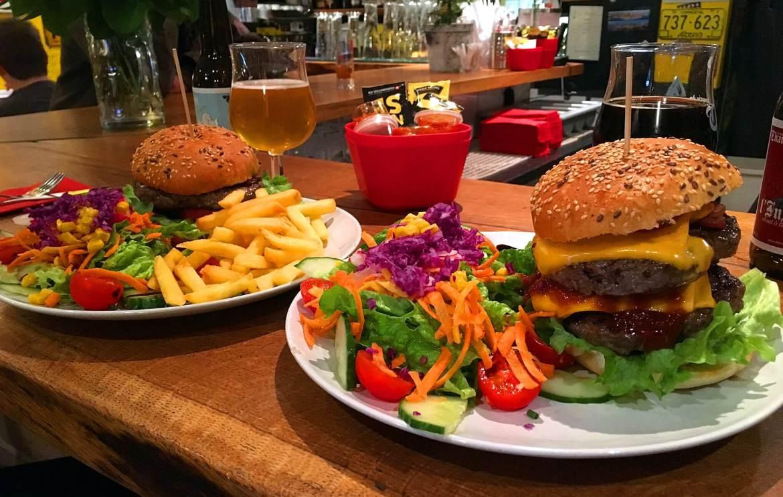 Burgers du Non-stop Burger à Lutry