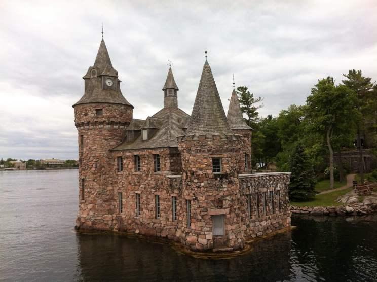 Château des Mille îles à Gananoque à l'est du Canada