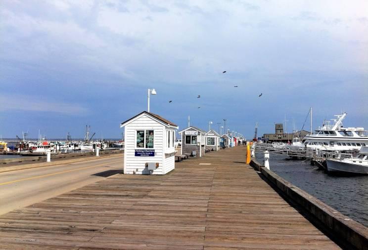 Provincetown à Cape Cod sur la côte Est des Etats-Unis