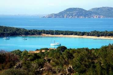 Baie de Rondinara en Corse du Sud