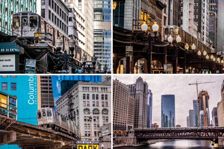 Métro aérien Chicago