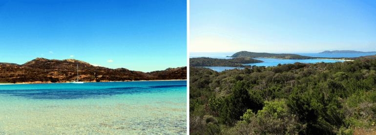 Plage et baie de Rondinara en Corse du Sud