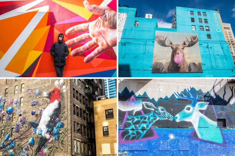 Street Art Wabash arts corridor Chicago