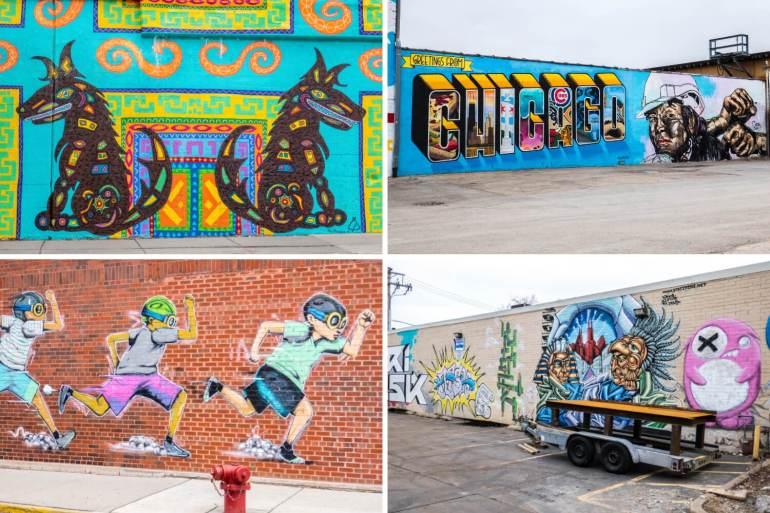 Street Art Wicker Park Chicago