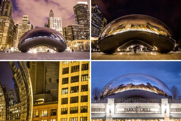 The Bean de nuit Chicago