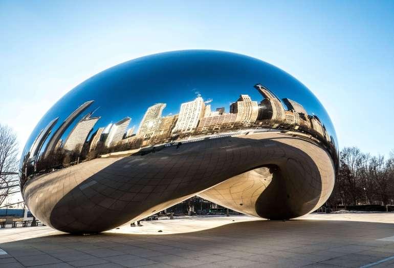 The Cloud Gate ou le Bean Chicago