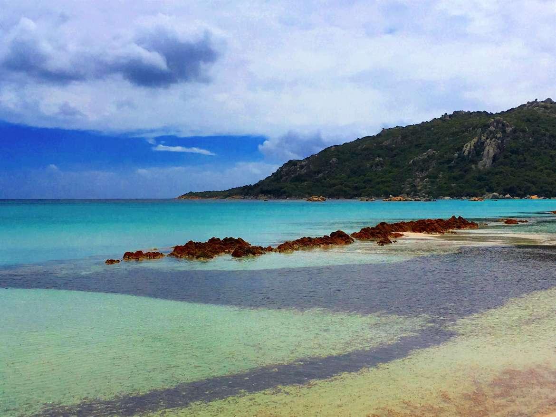 Golfe de Santa Giulia en Corse du Sud